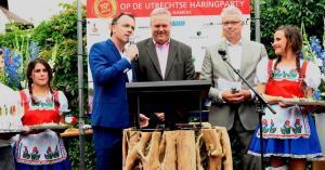 Feestelijk jubileum Utrechtse Haringparty