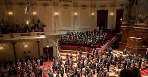 Foto: Radio Filharmonisch Orkest en Groot Omroepkoor   © Jurjen Stekelenburg