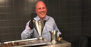 Rick de Louw aan de slag bij Vineyard Catering