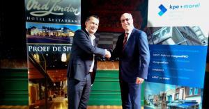 Samenwerking KPE Morel en Oud Londen Horeca
