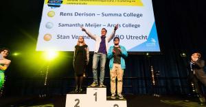 Zes jonge vakkanjers gehuldigd in RAI Amsterdam