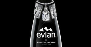 Bjorn van den Berg ontwerpt luxe exclusieve fles voor evian