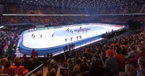 WK Shorttrack 2021 in Rotterdam Ahoy