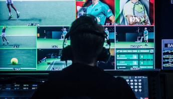 Faber Audiovisuals zet hoog in tijdens ABN Amro Tennistoernooi