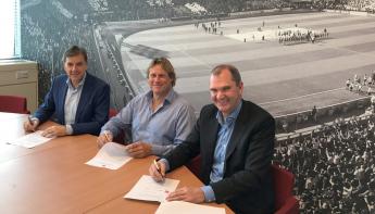 Zadkine, Stadion Feijenoord en CREW ondertekenen onderwijsplan
