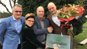 Dutch Hotel Group neemt merknaam Hampshire over