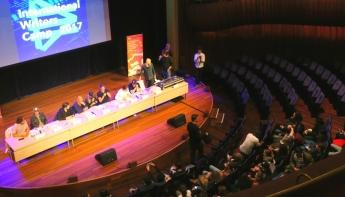 Philharmonie Haarlem podium voor muzikaal International Writers Camp