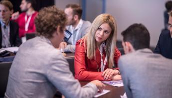Young Professional Hub inspiratiebron tijdens Offshore Energy