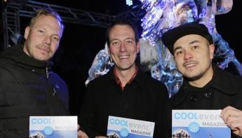 Ice EXPO geopend door wethouder Boudewijn Revis en Pat Smith