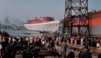 Het ss Rotterdam viert 60-jarig bestaan