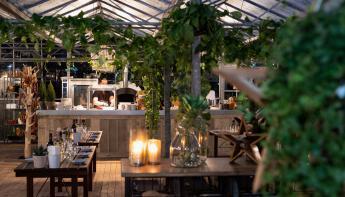 Hotel De Bilderberg opent pop-up restaurant: Winter in the Woods