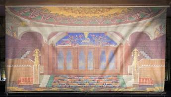 Foyer Tuschinski voor één dag in Chassé Theater