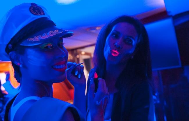 Partyjacht Thalassa entertainment