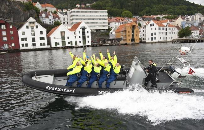 Rib boat, Bergen