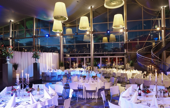 Private dining tot 700 personen