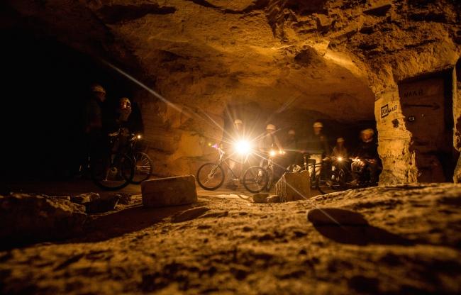 Fietsen grotten Valkenburg