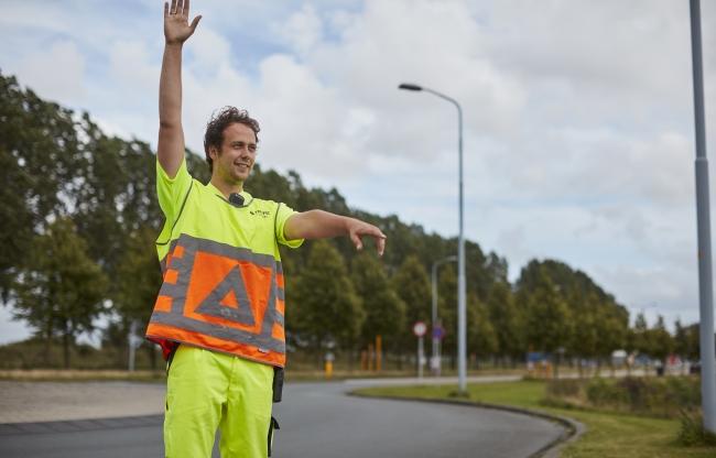 Daadkrachtige verkeersregelaars