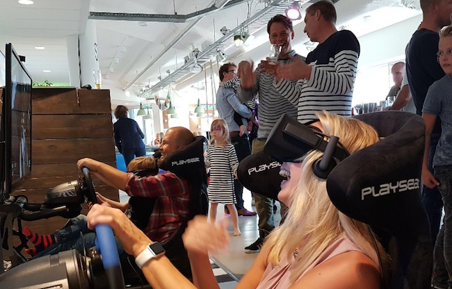 Virtual Reality Race Simulator evenement bedrijfsfeest