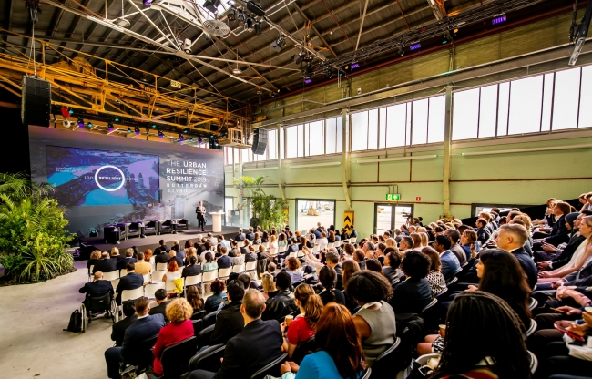 Rockefeller Foundation - Urban Resilience Summit 2019