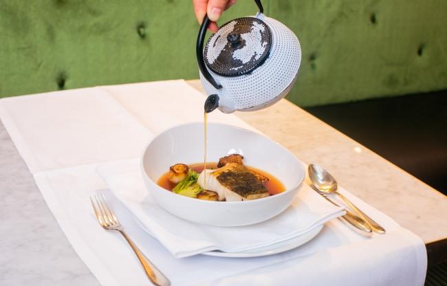 Dineren in Brasserie Cé