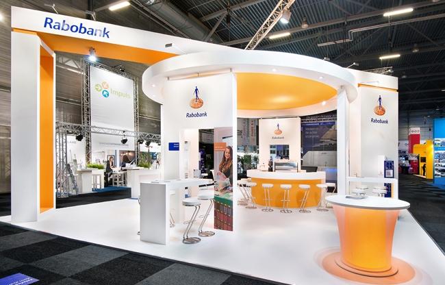 Design standbouw Rabobank - Contacta