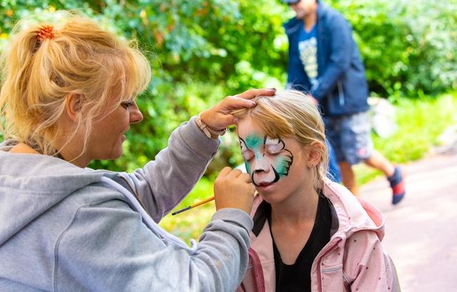 Topdag voor schilders en hun families in Walibi Holland