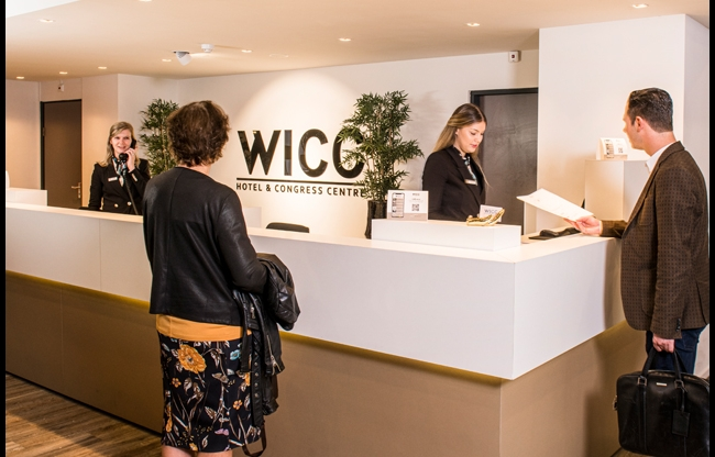 Receptie Hotel WICC