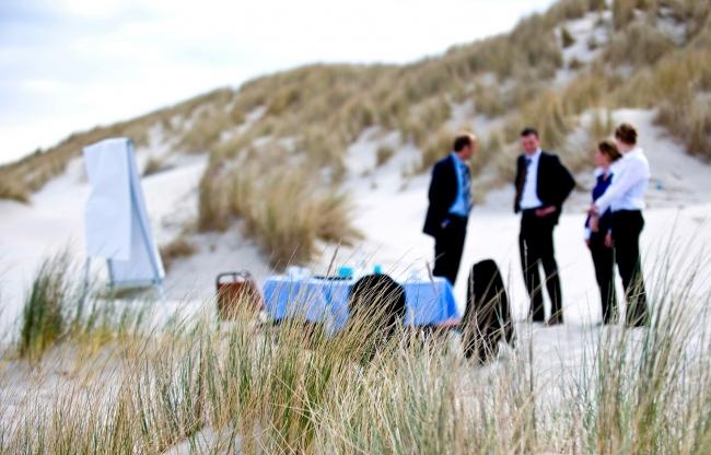 Island Events by WestCord Hotels - vergaderen op het strand
