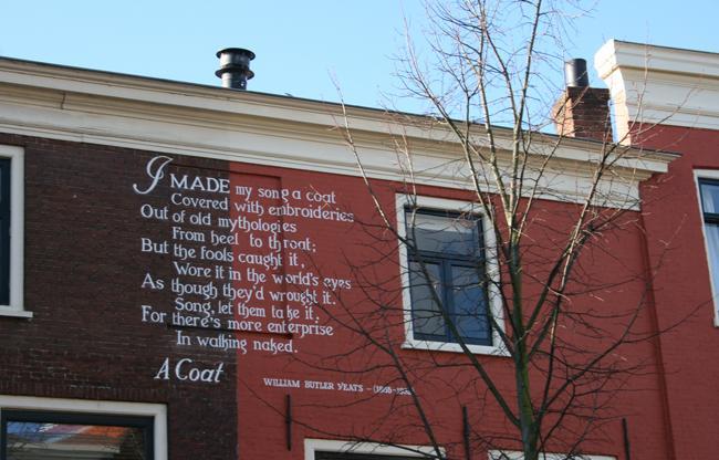 Gedichten op Muren