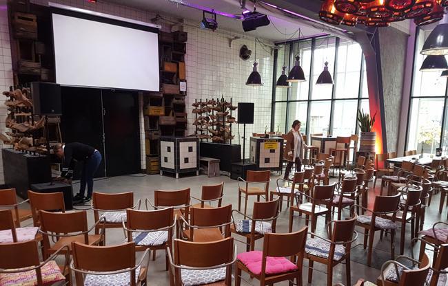 Bierbrouwerij Vandeoirsprong: informeel en gezellig