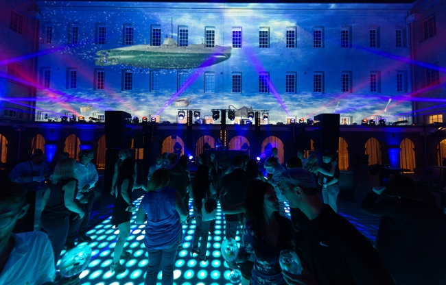Het Scheepvaartmuseum introduceert video mapping