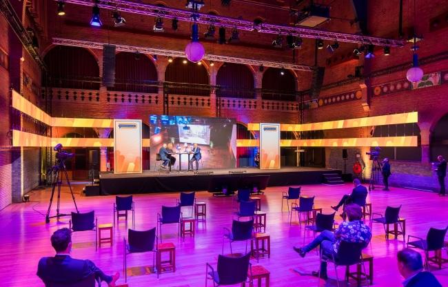 Virtueel congres met publiek vanuit Studio Berlage