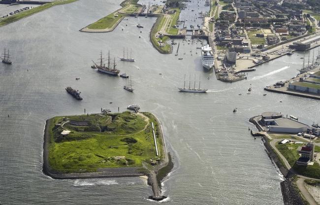 PBN Forteiland IJmuiden