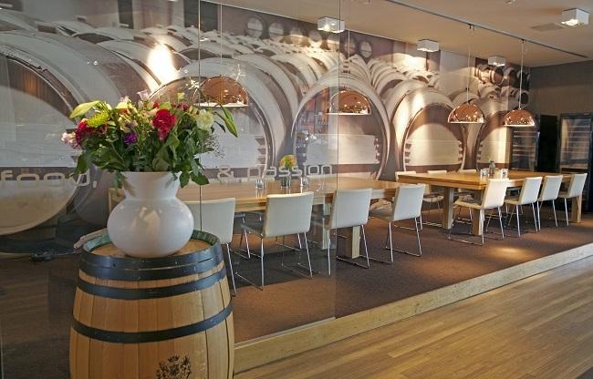 Wijnkabinet - Bluefinger Restaurant