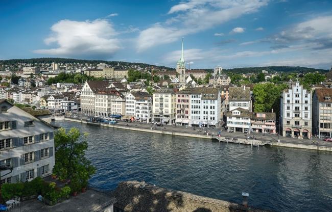 Zurich ©Zwitserland Toerisme