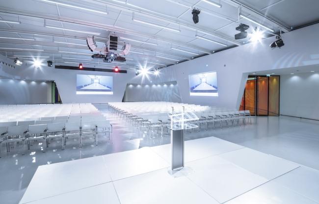 Jaarbeurs Media Plaza - Polar - congreszaal - plenair - bijeenkomst - event - vergaderen