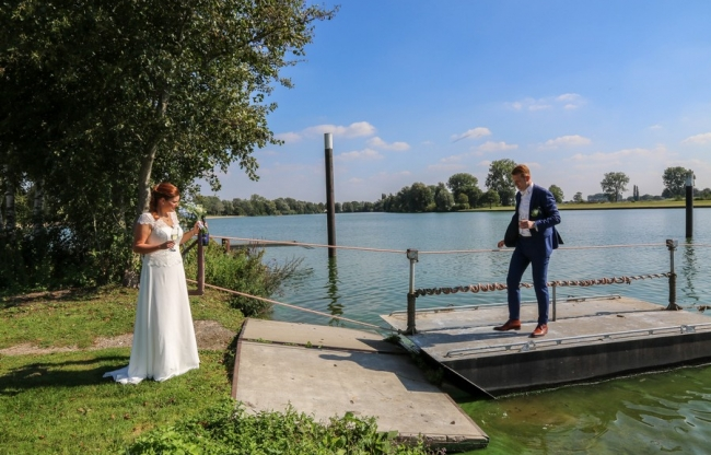 Trouwen Water riverside Appeltern Gelderland Brabant