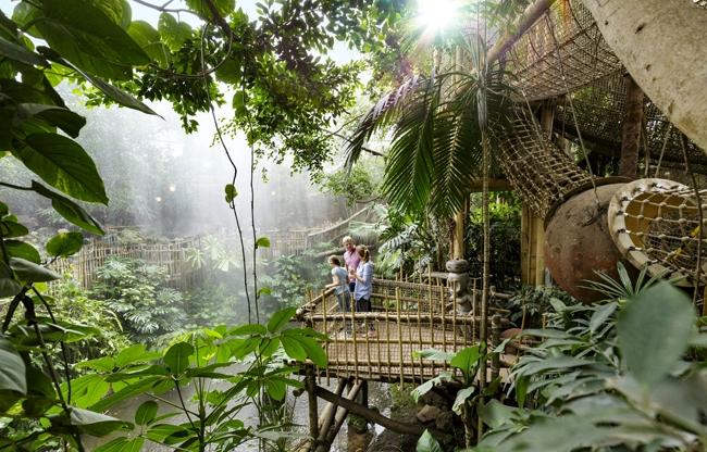 Jungle Dome – bij Center Parcs Het Heijderbos