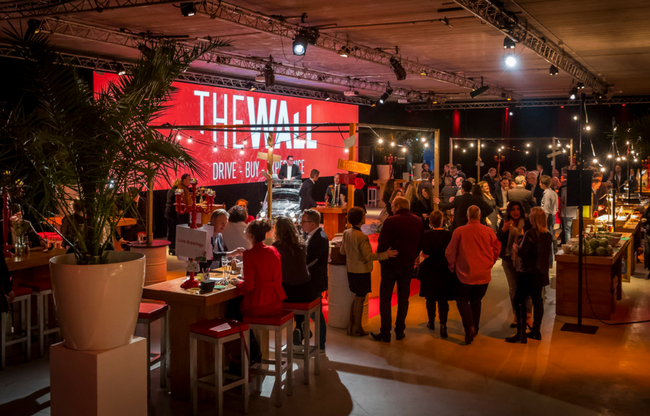 Interim Eventmanager - The Wall - ombouw eigen locatie