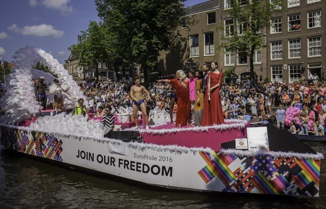 Botenparade 2017. Foto: Jeroen ploeger