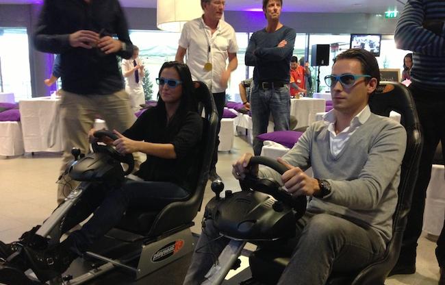 3d race simulator evenement