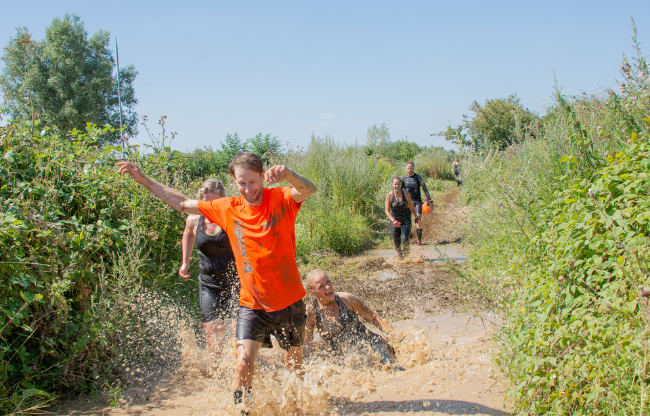 Mud & Water Challenge obstacle run/bootcamp EVM19