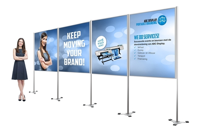 ABC Display Portable Branding