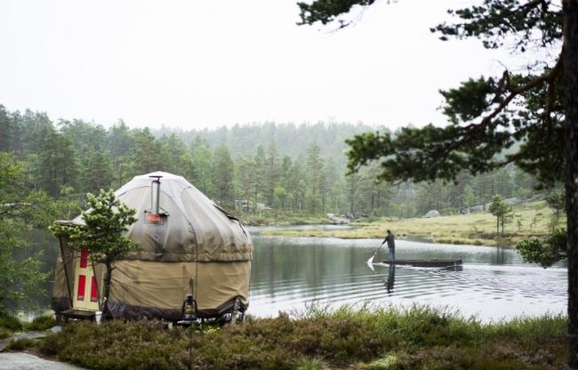 Yurt, Noorwegen