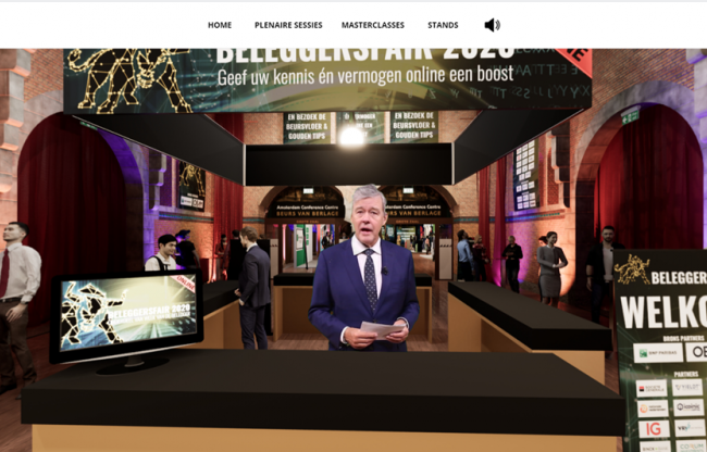Volledig virtueel congres vanuit de Virtuele Beurs van Berlage