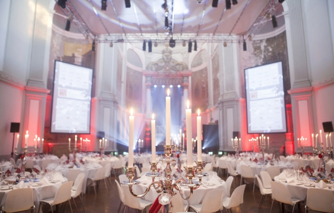 Amplify EventMarketing Evenementenbureau - gala awardshow diner