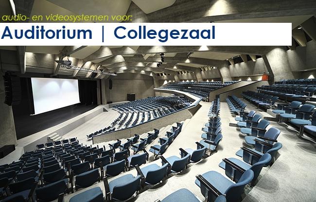 Audio- en videosystemen | auditorium en collegezaal