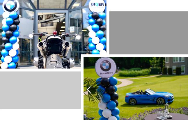 Duurzame ballonnen bij BMW sponsor van AZ Golf toernooi