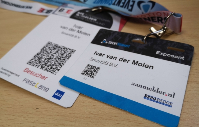 kleurenbadge BOE19 en EventSummit 2019
