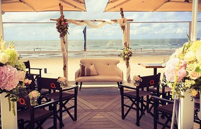 Bruiloften op het strand